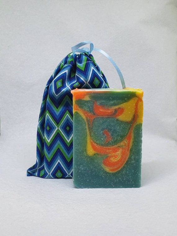 Coral Reef Goats Milk Soap