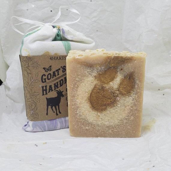 Oatmeal Honey and Goats Milk Soap