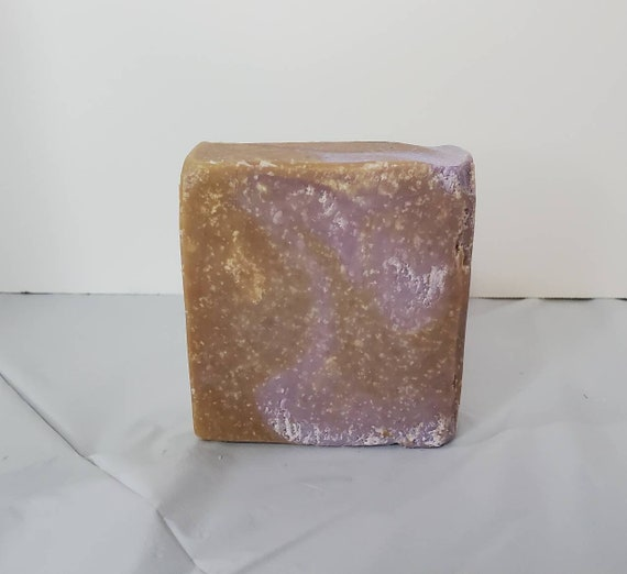Lavender and Chocolate Goats Milk Soap