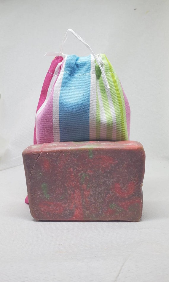 Cotton Candy Goats Milk Soap