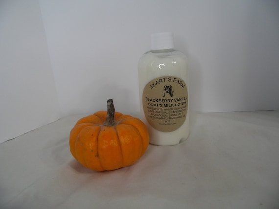 Blackberry Vanilla Goats Milk Lotion