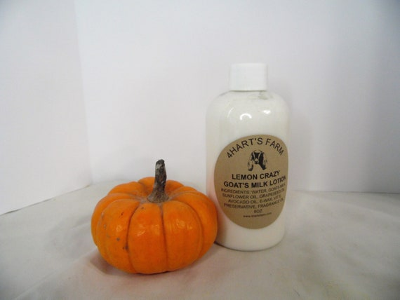 Lemon Crazy Goats Milk Lotion