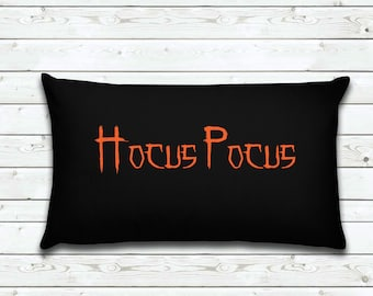 Hocus Pocus | Halloween Pillow Cover |  Home Decor | Decorative Pillow Cover | Cover | Gifts for Women