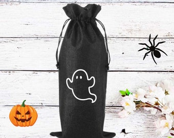 Ghost | Wine Bag | Halloween Wine Bag |
