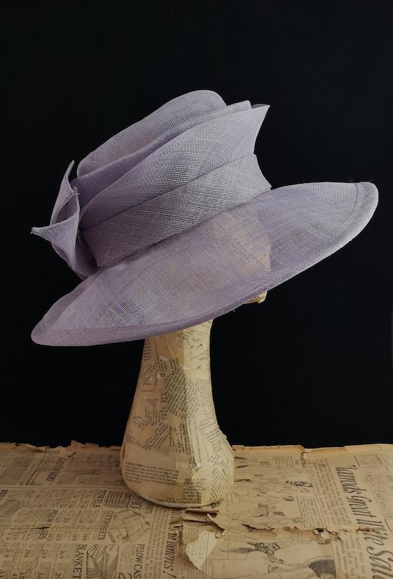 Vintage oversized sisal sun hat, wedding hat