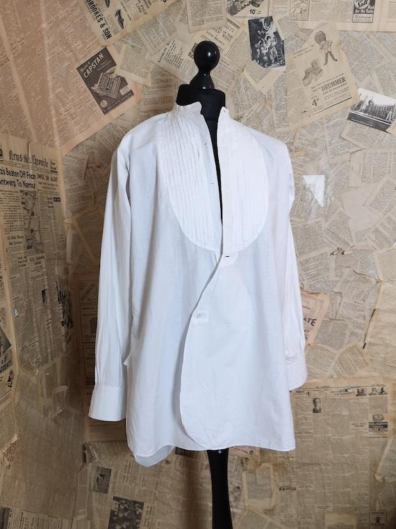 Vintage mens dress shirt, 1930s, Harrods