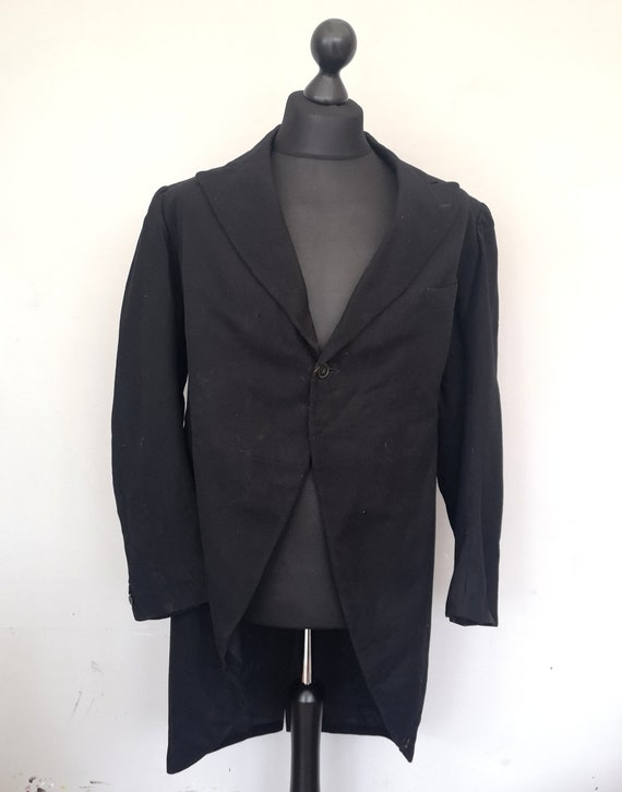Vintage 1930's Men's tailcoat, As is