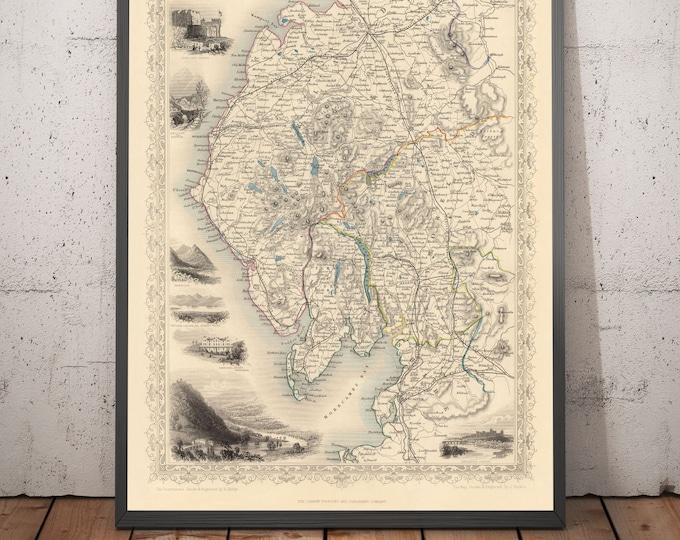 Old maps of UK & Ireland