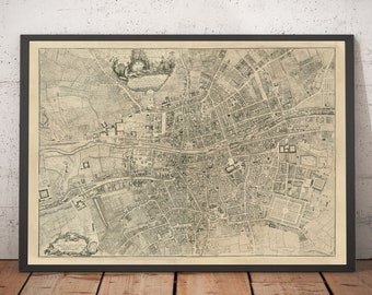 Maps of UK & Eire cities