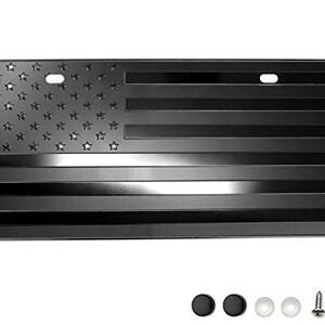 2x AR15 Lower American Metal Flags Black Embossed Emblems 2pcs set ...