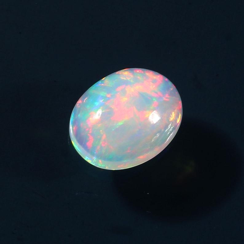 1.5 carat Top Quality Opal Gemstone Opal Jewelry Setting Ethiopian Opal Cabochon 10X8 MM size Oval Cabochon Welo Fire Opal