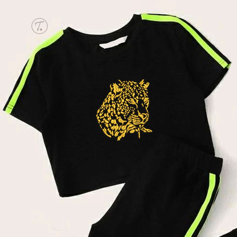 Machine Embroidery Wild cat Leopard Embroidery Design Applique of wild animals Animals Leopard Instant download embroidery Pattern