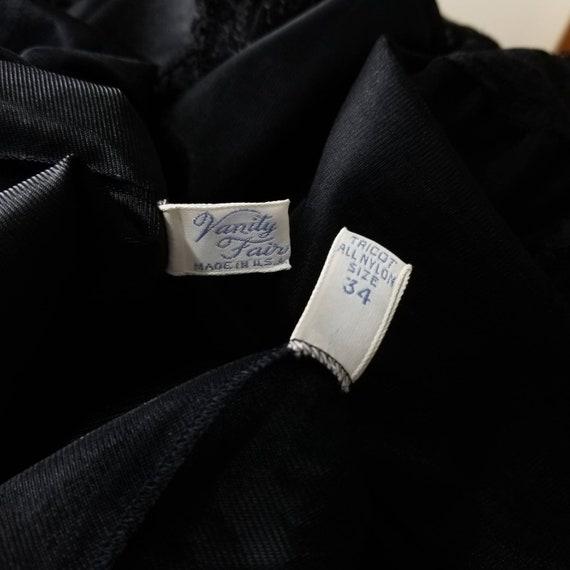 Vintage 60s Black Nightgown & Peignoir Lingerie S… - image 9