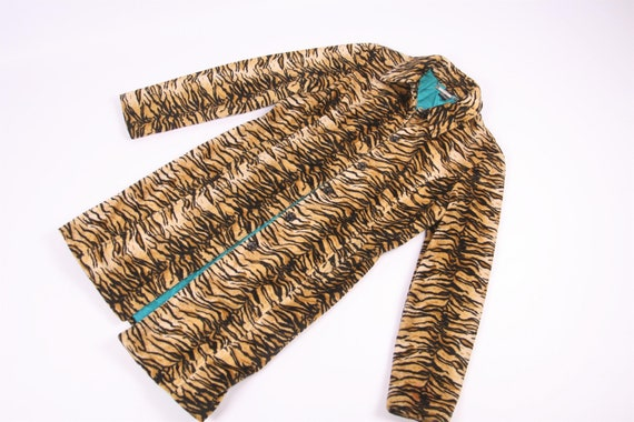 Guees USA Vintage Leopard Coat