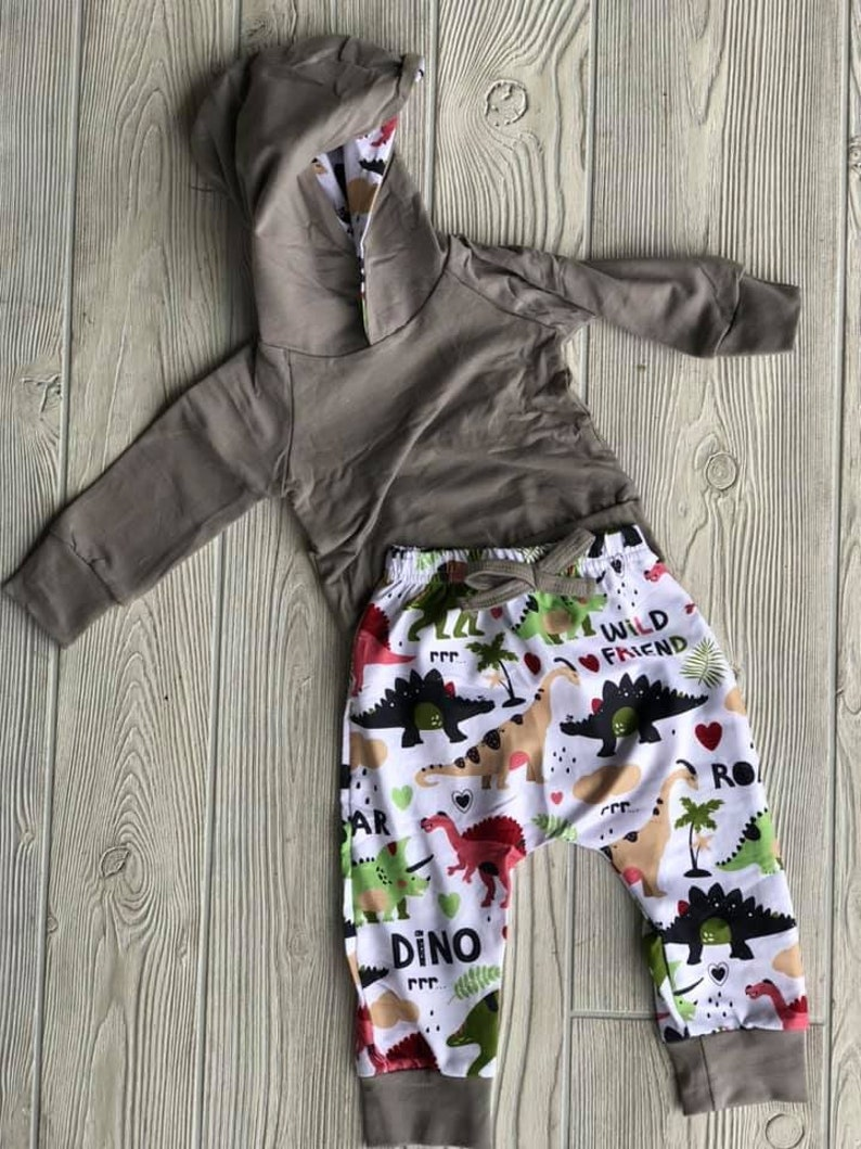 Dinosaur Hooded Outfit