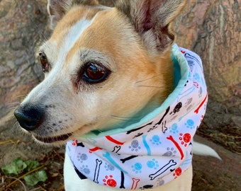 The Street Is Your Dogs Runway Infinity Dog Scarf I specialize in Unique Stylish Accessories for your Dog Trendy Swagger your Pup!