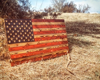 Rustic Wooden American Flag  - Rustic Flag, American Flag Wood, Pallet American Flag, Wood Art, Wood Flag, Wooden Flag, Distressed Flag