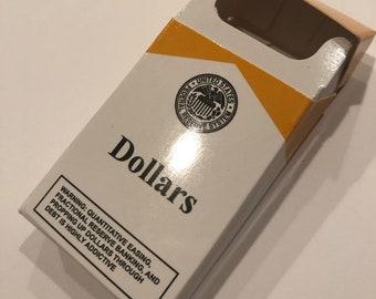 Bitcoin Cigarette-Style Box, Limited to 99