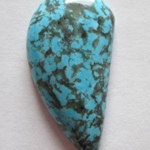 AZ Turquoise Cabochon Gemstone Stabilized Kingman # 1AO 021 31.10 ct
