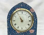 Clock Mantle William Morris Vintage Bespoke Upcycled