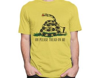 Don/'t Fart On Me Kids/' T-Shirt Gadsden Flag Parody Don/'t Tread On Me
