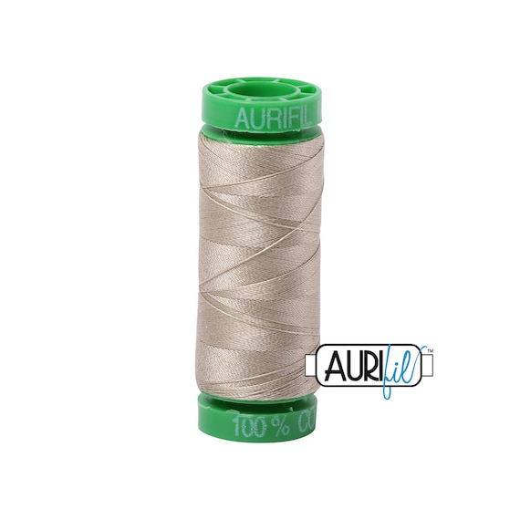 Small Spool Aurifil Thread 2360 Chocolate - 28wt
