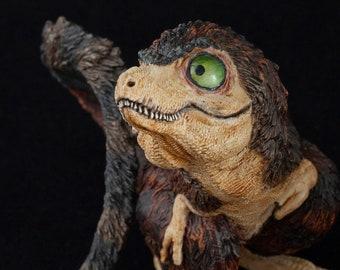 Tyrannosaurus rex baby, hand painted dinosaur model