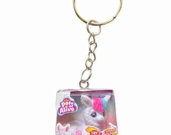 Mini Pets Alive Boppi the Booty Shakin' Llama Keychain