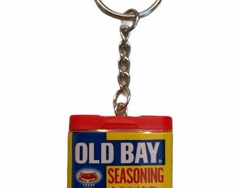 Miniature Old Bay Keychain