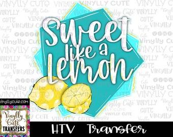 Sour Power Vinyl Sheet ~ HTV or DECAL ~ 12 x 12 ~ Single Sheets ~ Siser HTV  ~ Vinyl Roll ~ Lemon Lime ~ Summer