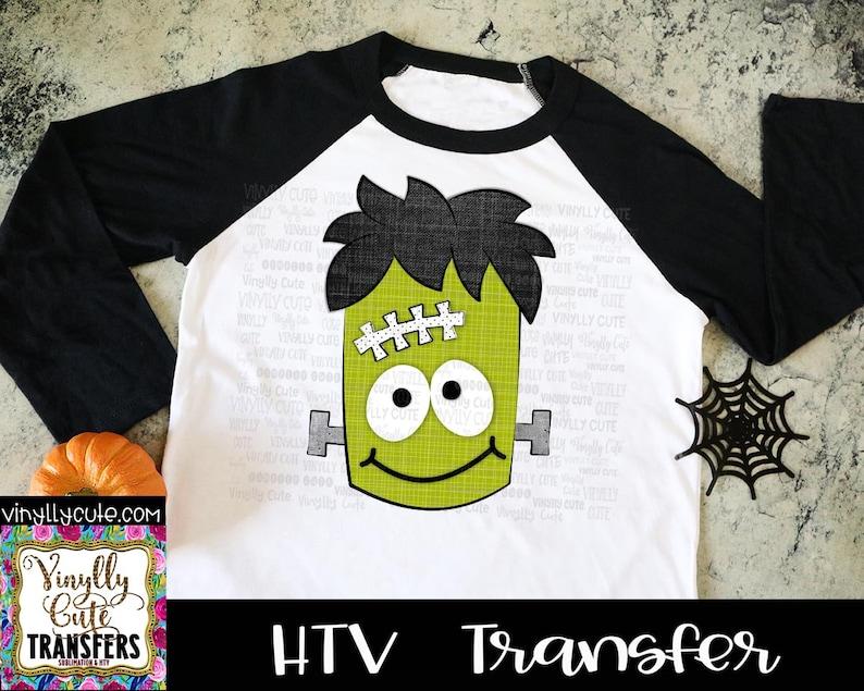 HTV Transfer ~ Frankenstein ~ Siser Vinyl ~ Halloween