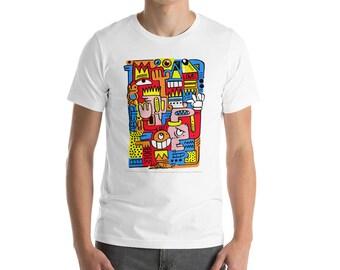 Abstract. Love. Art T-Shirt , abstract art, modern art, abstract art tshirt, modern art tshirt, wearable art
