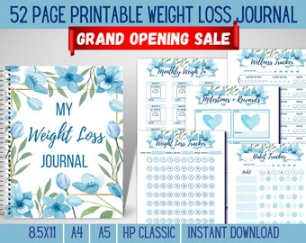 weight loss tracker journal