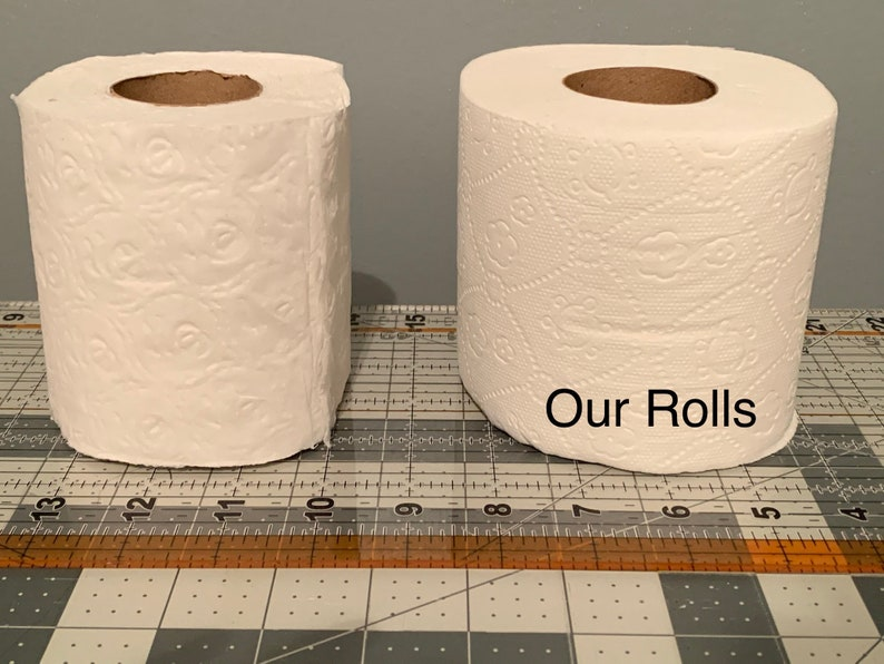Kansas City Chiefs Embroidered Toilet Paper