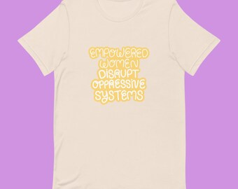 Empowered Women Tee, Short-Sleeve Unisex T-Shirt