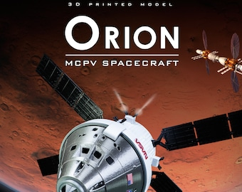 ORION MPCV Spaceship | Plastic model  | Rocket | Spacecraft | 3D Print