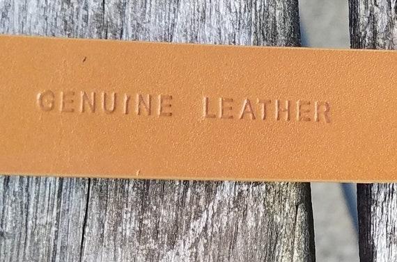 Lauren Ralph Lauren Gold Leather Belt - image 7