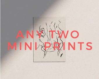 Any 2 Mini Prints