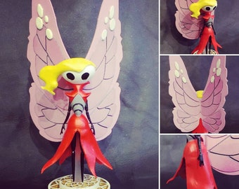 Hollow Knight Figurines : The Radiance Tiso Pale King White Lady Cloth Marissa Steel Soul Jinn Sheo