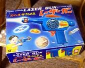 Laser Raygun Ray Gun Kanto Nomura Vintage Japan Space Toy