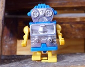 Wind-Up Robot Vintage Hong Kong Space Toy