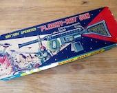 Nomura Flashy Raygun Ray Gun Vintage Tin Japan Space Toy