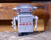 Walking Space Man Robot Vintage Hero Uni-Pet Wind-Up Japan Toy