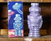 Captain Bubbles Robot Bath Vintage Avon Japan Hong Kong Space Toy