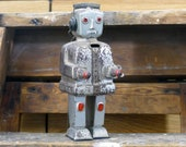 Strenco ST 1 Robot Vintage Tin Wind-Up West German Space Toy