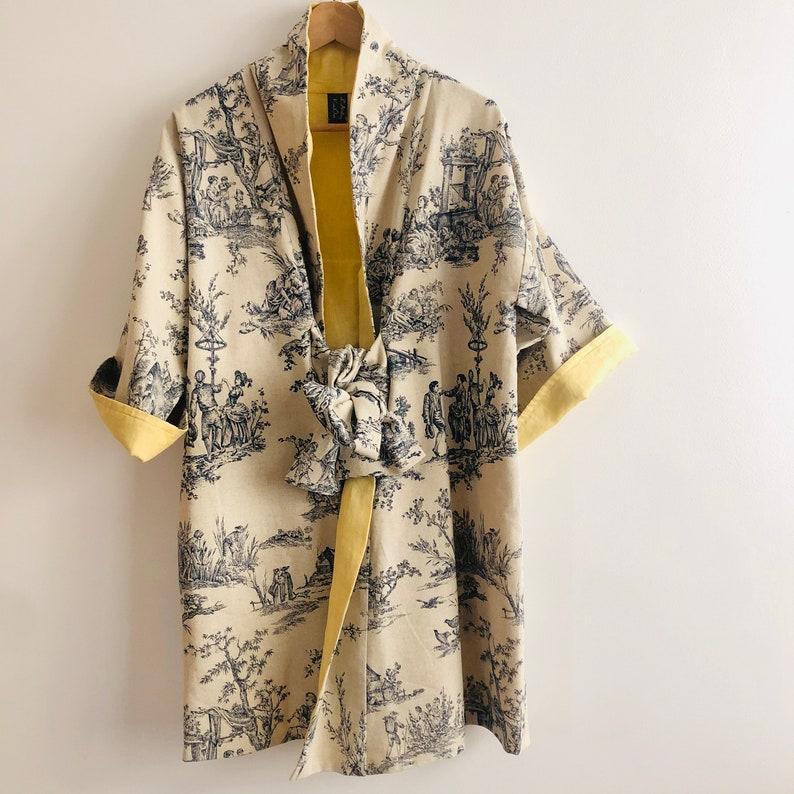 SOLD  Available in PRE-COMMANDE  Kimono mid-length image 0