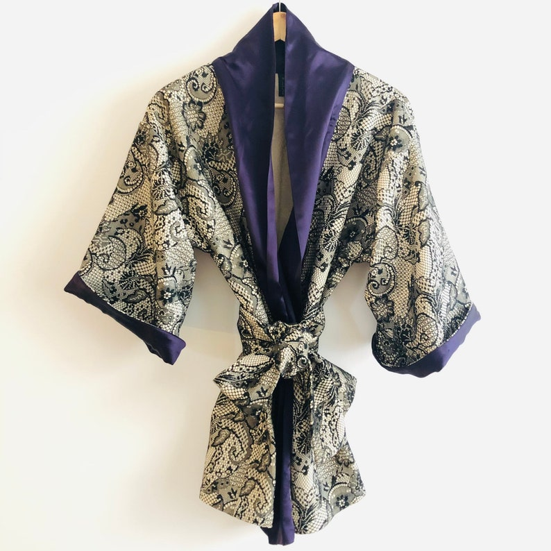 Kimono mid-length Precious Alouette kimono image 0