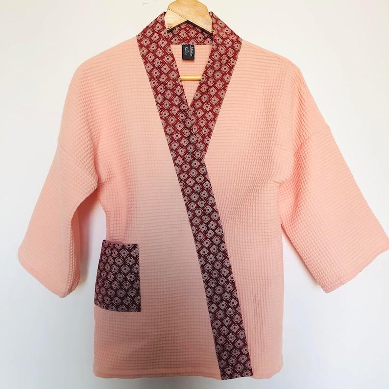 Kimono Brick Nest kimono jacket bathrobe jacket image 0