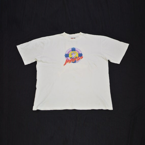 "1990s Vintage Mambo Graphics Printed Tee ""Not Wavi"