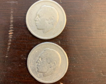 Lot of 5 Morocco 2002 1 Dirham Coin FREE SHIPPING!!!!! 1423